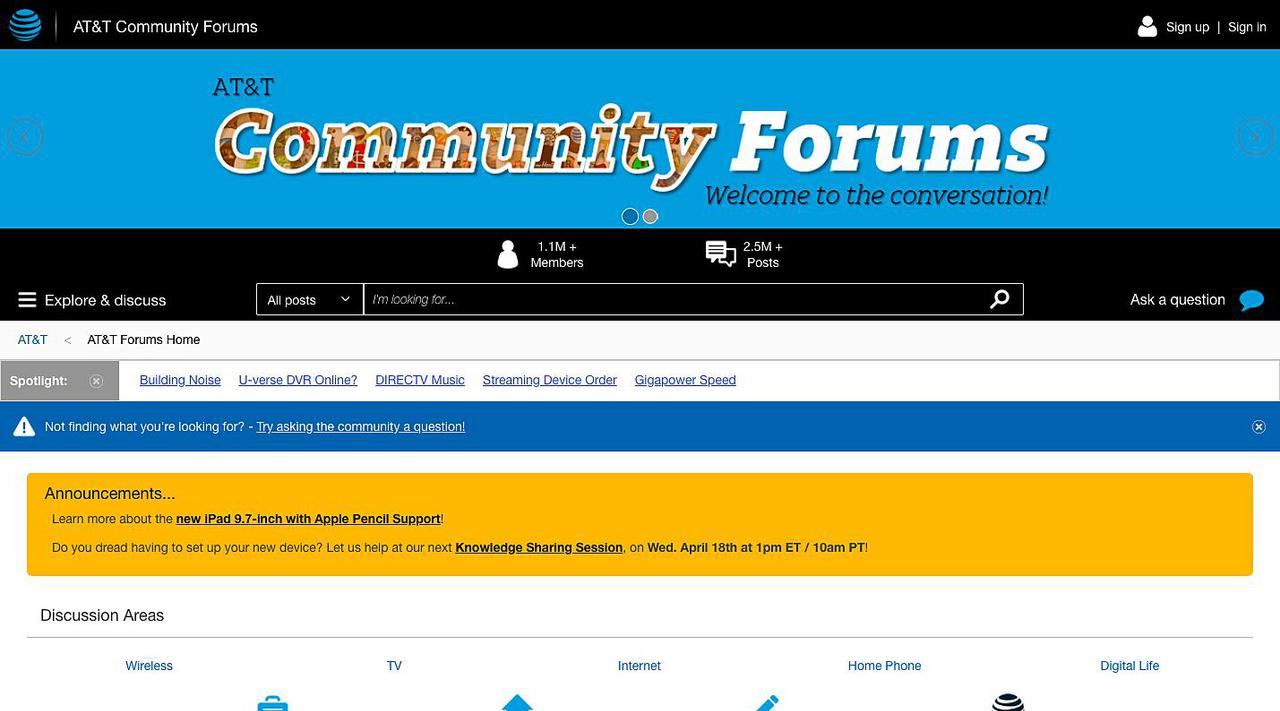 AT&T Community Forums